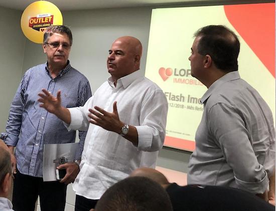 Carlos Gama, Luciano Cavalcante e Ricardo Bezerra