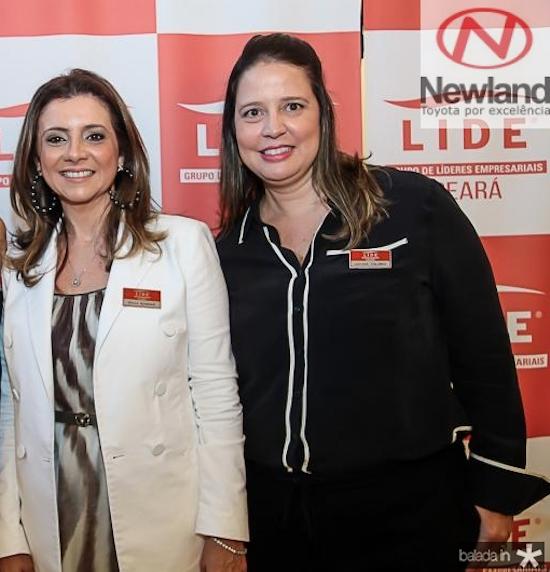 Emília Buarque e Luciana Colares