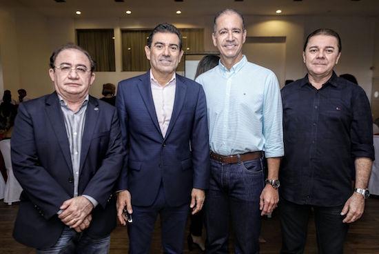 Manoel Linhares, Alexandre, Régis e Eliseu Barros