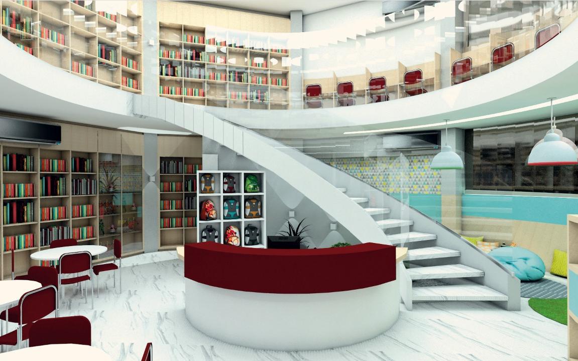 Ampla biblioteca