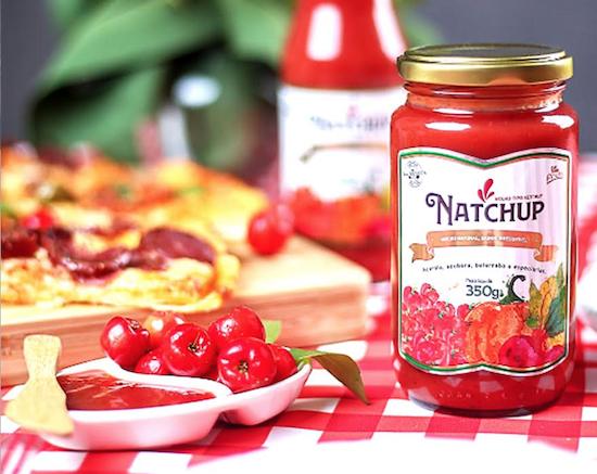 Natchup é 100% natural