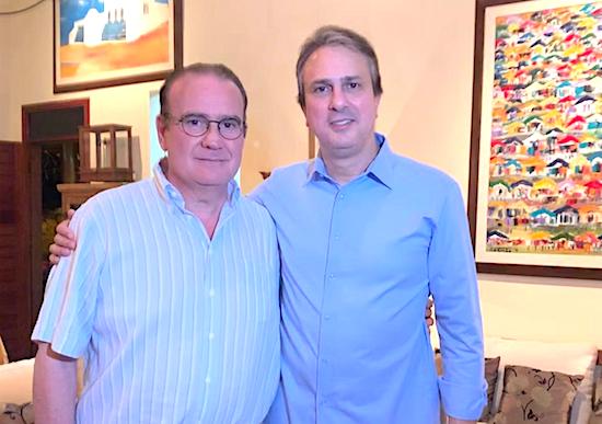 Chiquinho Feitosa e Camilo Santana
