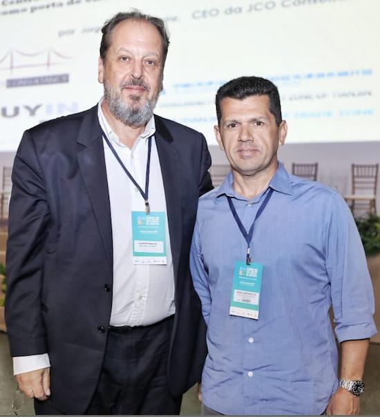 Eduardo Sanovicz e Erick Vasconcelos