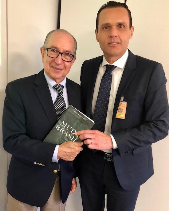 Marcos Cintra e Eduardo Diogo