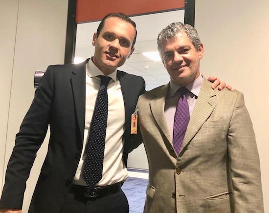 Eduardo Diogo e Marcos Troyjo