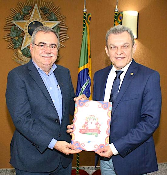 Assis Cavalcante e José Sarto