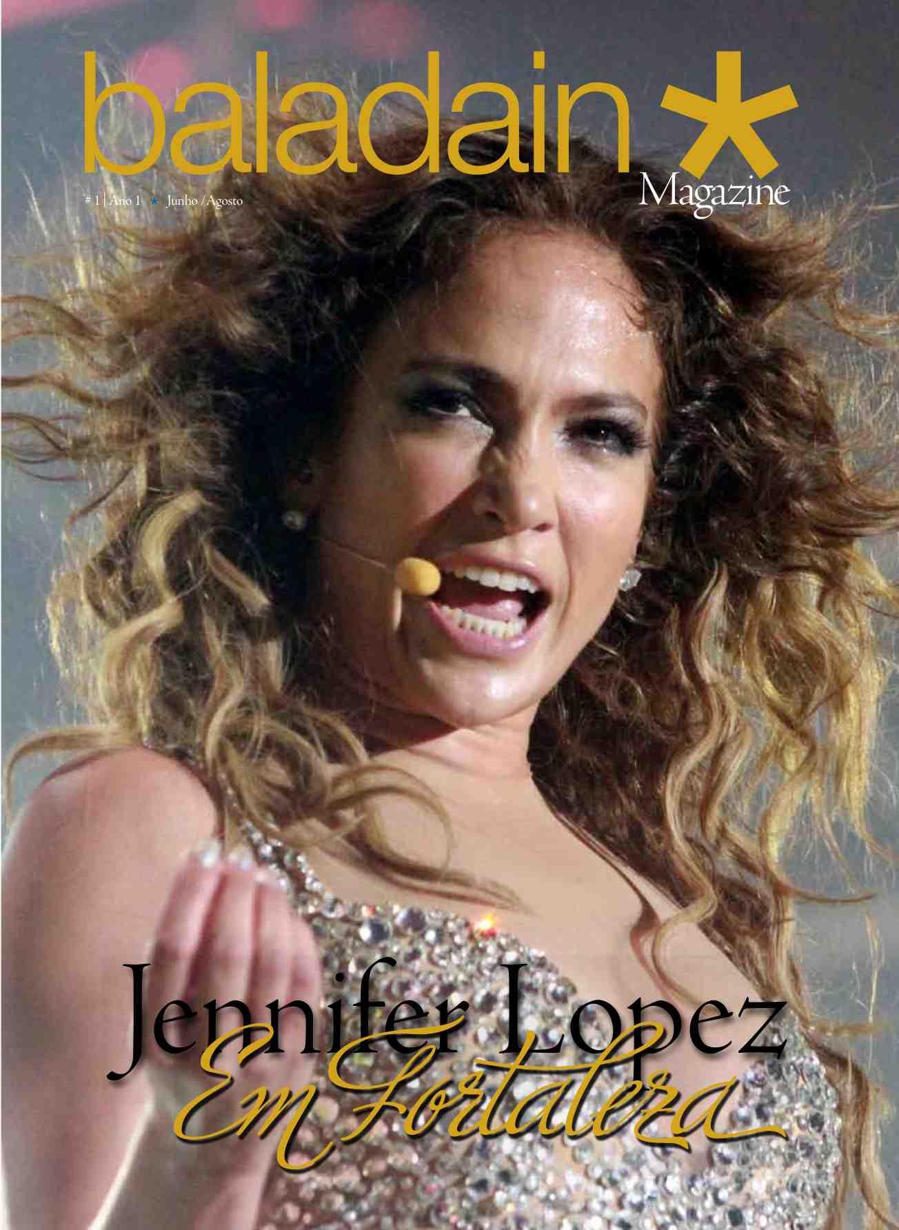 Primeira Edição: Jennifer Lopez