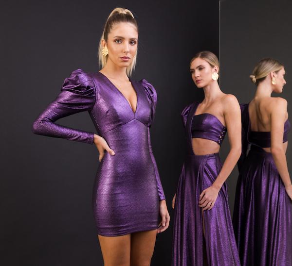 Brilho, elegância e sofisticação são os sinônimos da nova coleção da Interni