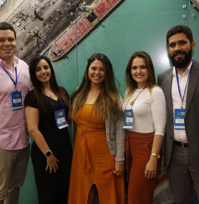 Ademar Filho, Cristiane Nepomuceno, Luiz Dantas, Karina Bzyu E Thiago Guimaraes