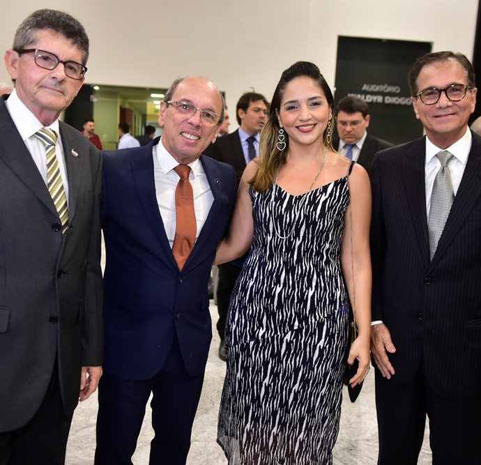 Agostinho Alcantara, André Montenegro, Rafaella Rocha, Beto Studart