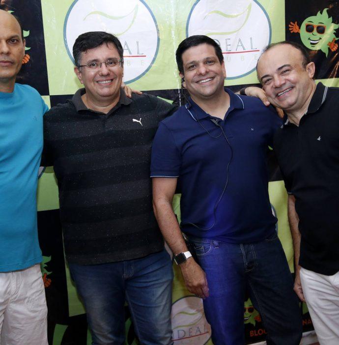 Ailton Junior, Eduardo Castro, Duda Soares E Antomario Da Hora