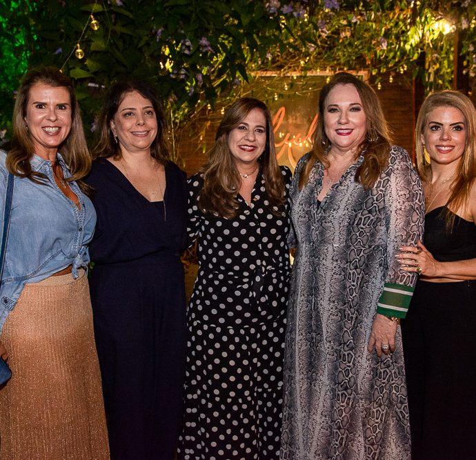 Alexandra Pinto, Claudia Gradvohl, Martinha Assuncao, Luziane Cavalcante E Leticia Studart