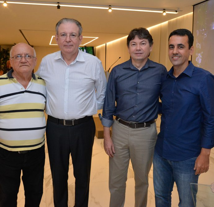 Aluisio Ramalho, Ricardo Cavalcante, Edgar Gadelha E Aluisio Ramalho Filho