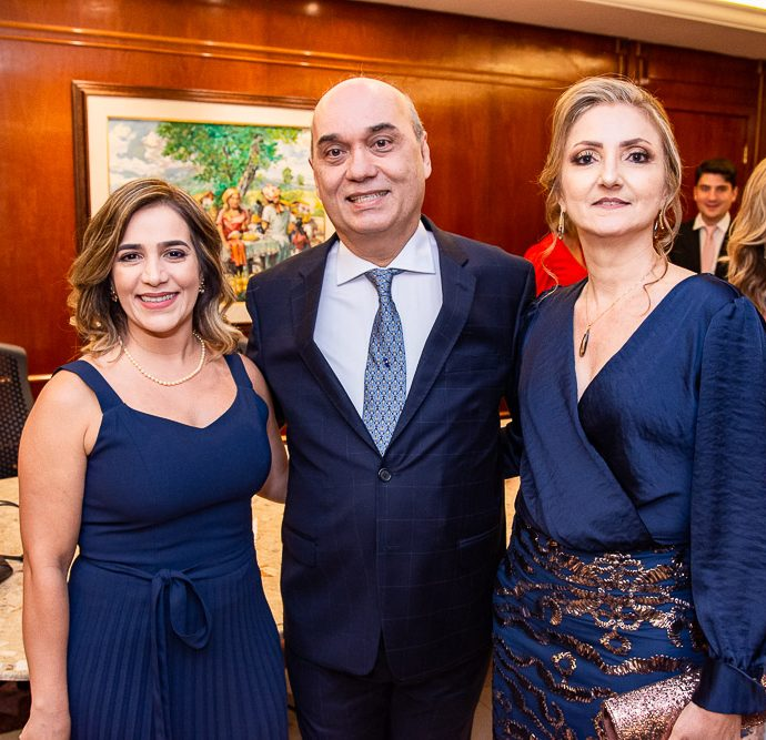 Ana Cristina Esmeraldo, Luciano Lima E Valeria Lima