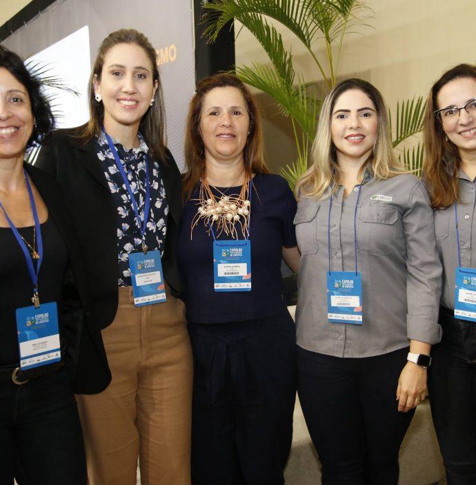 Ana Loturco, Alessandra Grangeiro, Sandra Almeida, Rafaelle Sobreira E Elane Costa