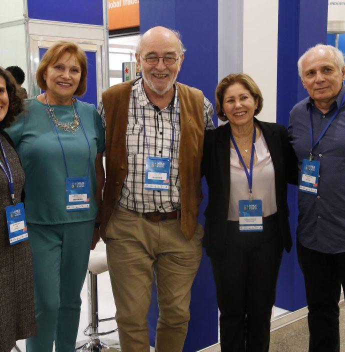 Ana Paula Sidy, Reinhilde Lima, Hane Jurgen, Ludmila Campos E Ricardo Sabadia