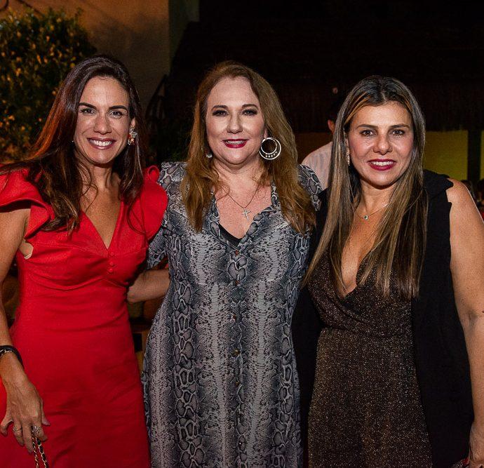 Ana Virginia Martins, Luziane Cavalcante E Erica Ximenes