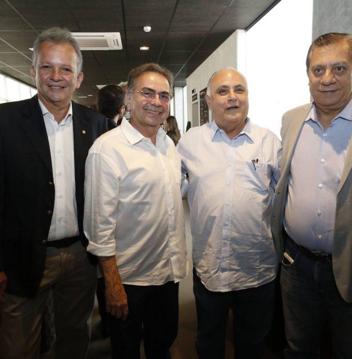 Andre Figueiredo, Leonidas Cristino, Roberto Pessoa E Jose Airton