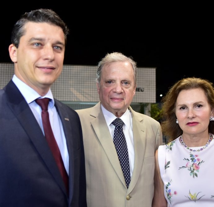André Siqueira, Tasso Jereissati, Renata Jereissati