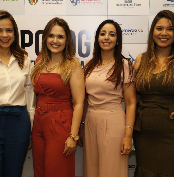 Andrea Maia, Karina Feitosa, Cristiane Nepomuceno E Luiza Dantas