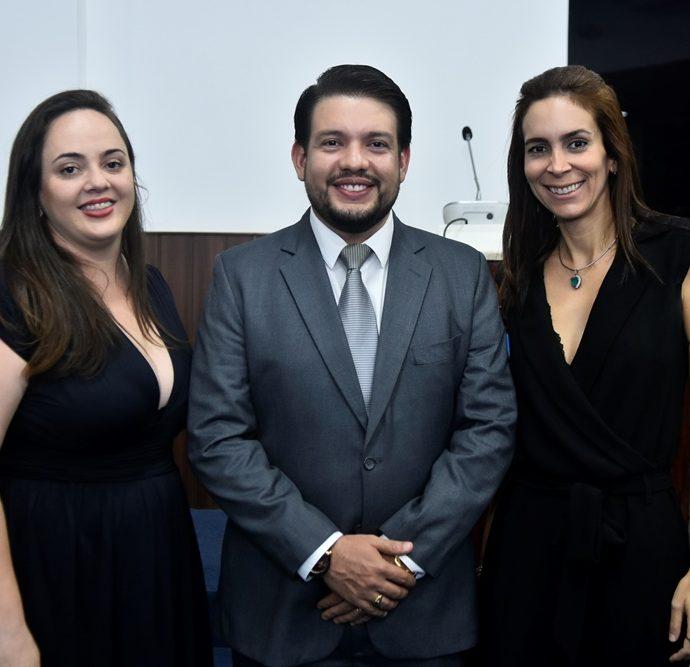 Aniele Pinzon, Victor Maia, Gisele Studart