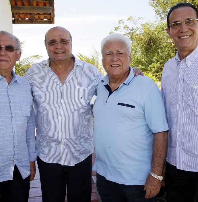 Antenor Barros Leal, Fernando Cirino, Waldyr Diogo E Aristofanes Canamary