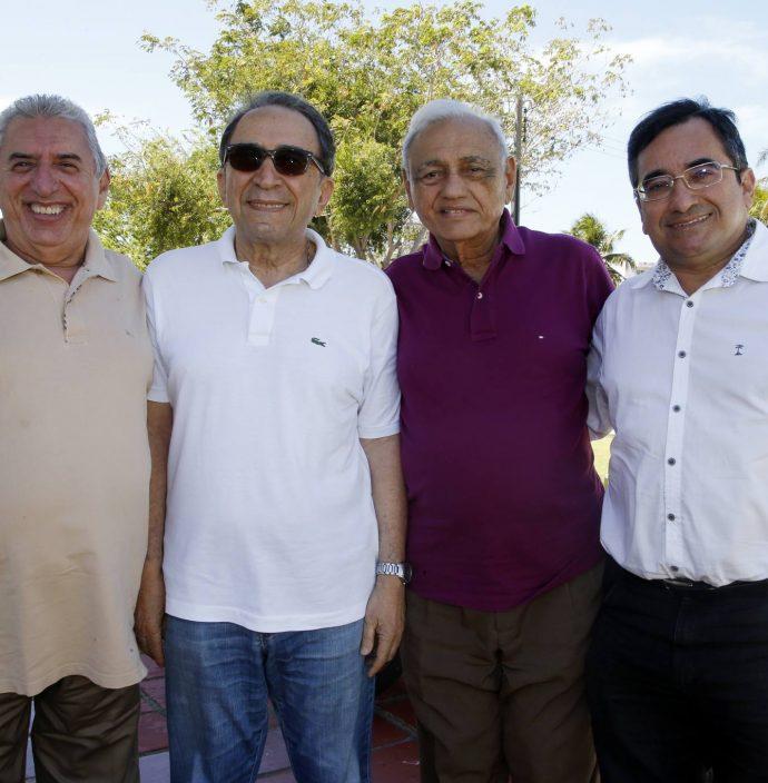 Antonio Dos Santos, Paulo Cruz, Leorne Belem E Jadson Cruz