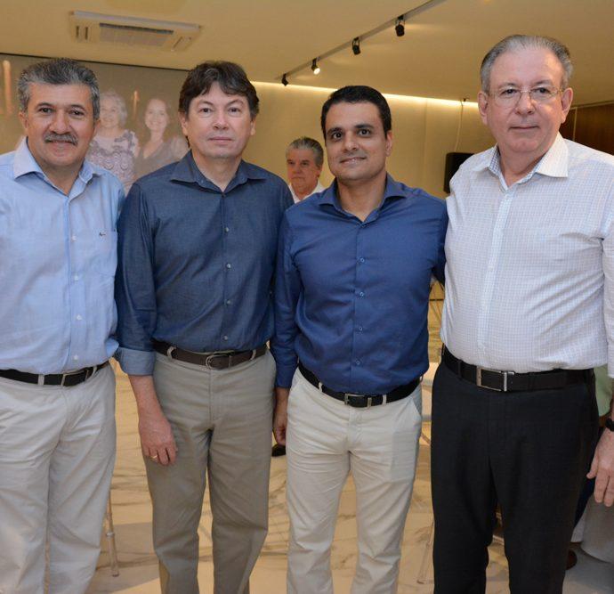 Antonio Henrique, Edgar Gadelha, Gardel Rolim E Ricardo Cavalcante