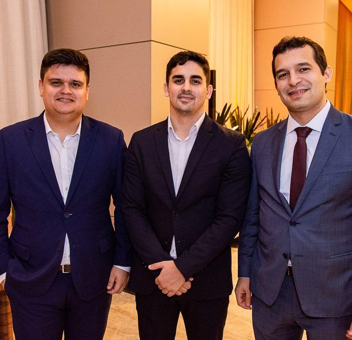 Antonio Vinicius, Miguel Lago E Igor Maciel