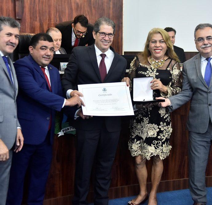 Antono Henrique, Raimundo Filho, Severino Ramalho, Vereadora Bá, Assis Cavalcante