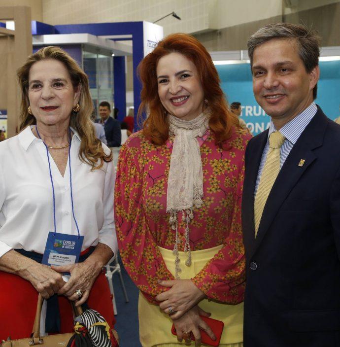 Anya Ribeiro, Enid Camara E Romulo Soares