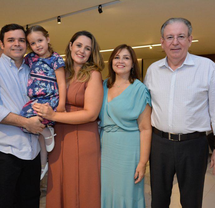 Augusto, Sofia E Natalia Pinho, Rosangela E Ricardo Cavalcante