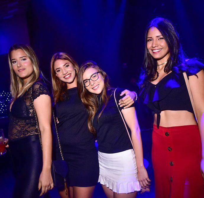 Barbara Oliveira, Francisca Larissa, Milena Ribeiro, Juliana Nascimento