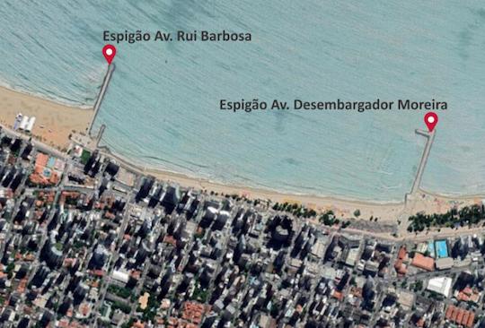 Concessão de espigões da Beira Mar garante segurança jurídica à Prefeitura de Fortaleza e empresas