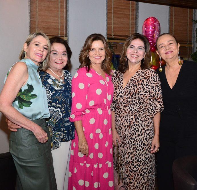 Bel Machado, Sheila Cavalcante, Geni Correia Lima, Keivy Machado E Cristiane Levy