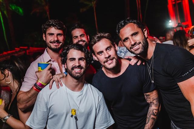 Bernardo Carrazone, Ralk, João Maciel E Thiago Vieira Foto Lara Valença