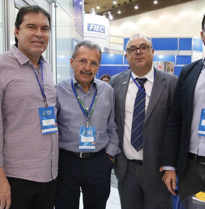 Bertran Boris, Egidio Serpa, Carlos Alberto E Raul Viana