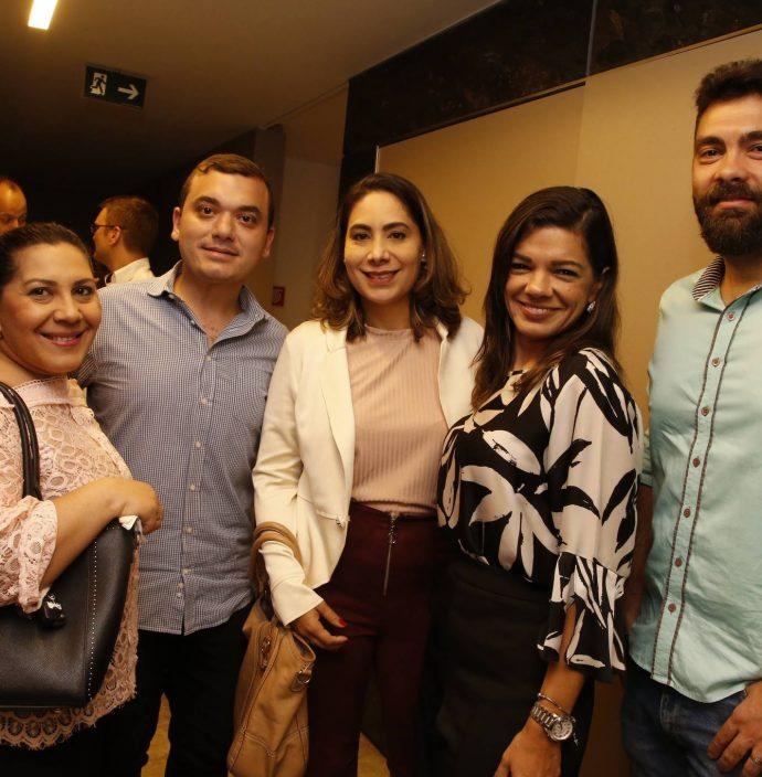 Beth Lima, Fernando Lopes, Leonor Coimbra, Pollyana Brandao E Davi Fernandes
