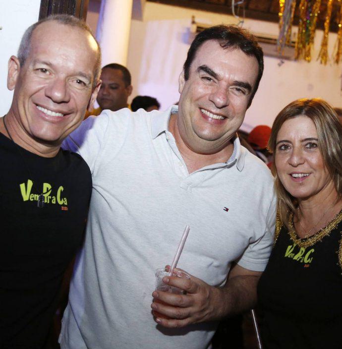 Beto Cavalcante, Claudio Ary E Ana Claudia Rego