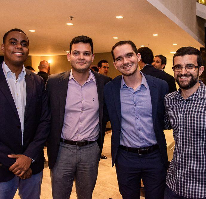 Bruno Alberto, Gilberto Barbosa, Davi Mendes E Felipe Moreira