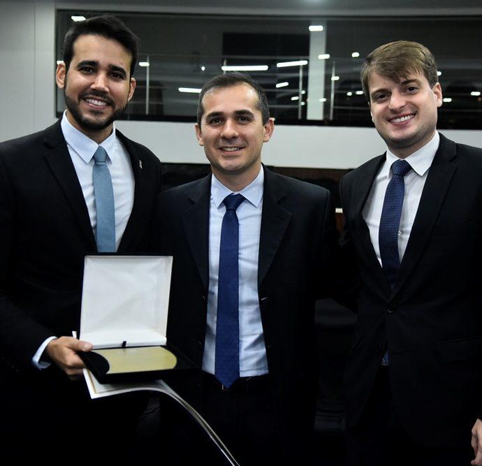 Cabral Neto, Roberto Leite Junior, Herison Viana