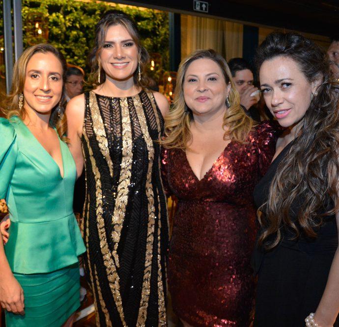 Camila Medeiros, Karini Azin, Fernanda Aguiar E Fatima Aguiar