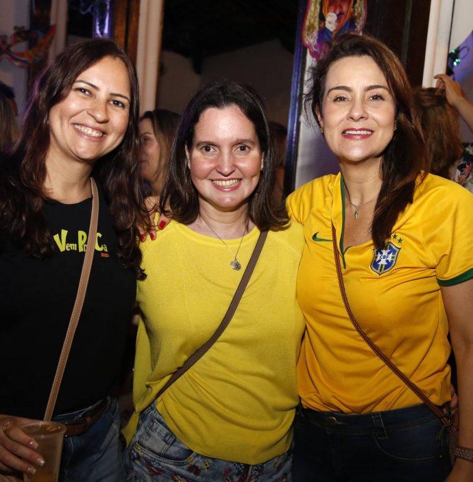 Camila Nobre, Georgia Dunkan E Monica Borges