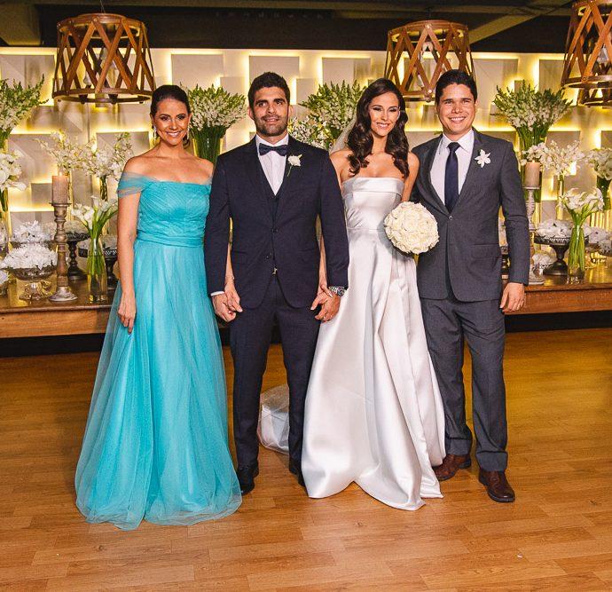 Camila Vasconcelos, Eliseu Becco, Mariana Vasconcelos E Felipe Figueiredo