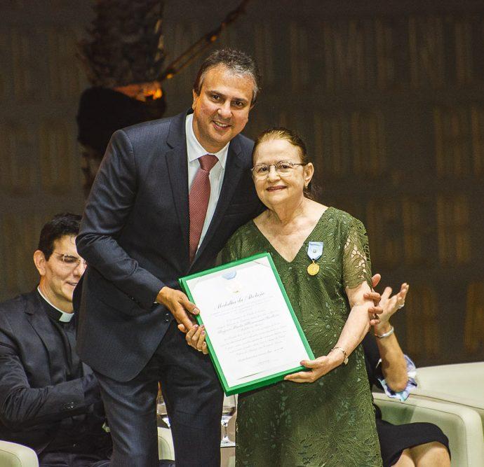 Camilo Santana E Angela Maria Rossas