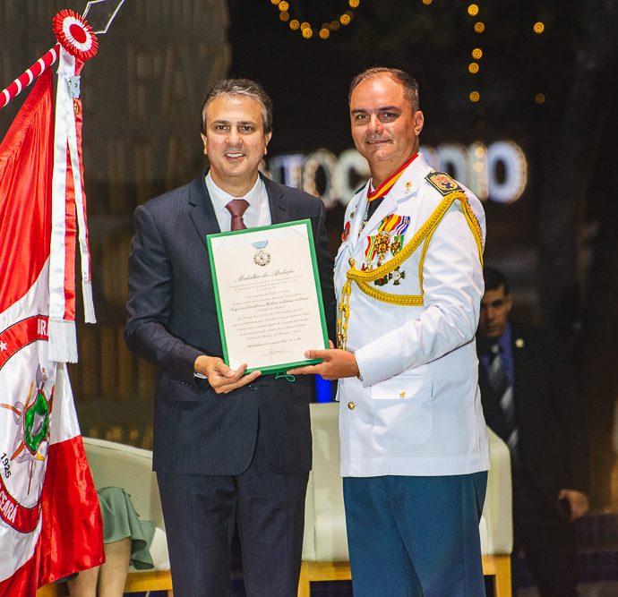 Camilo Santana E Coronel Eduardo Holanda
