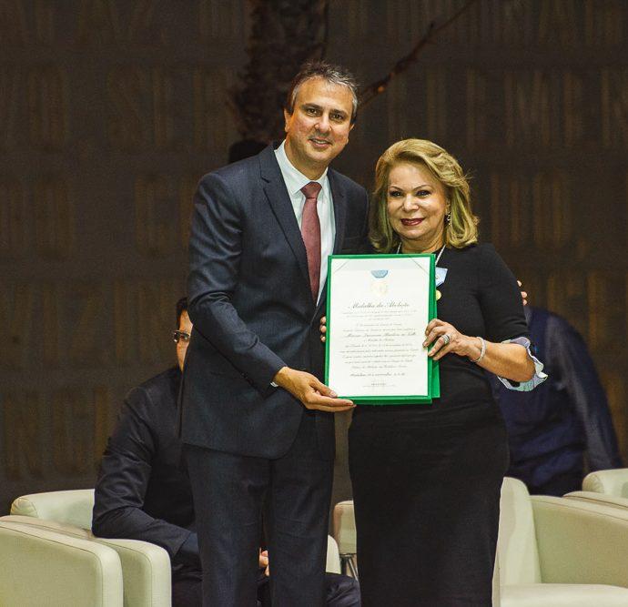 Camilo Santana E Iracema Do Vale