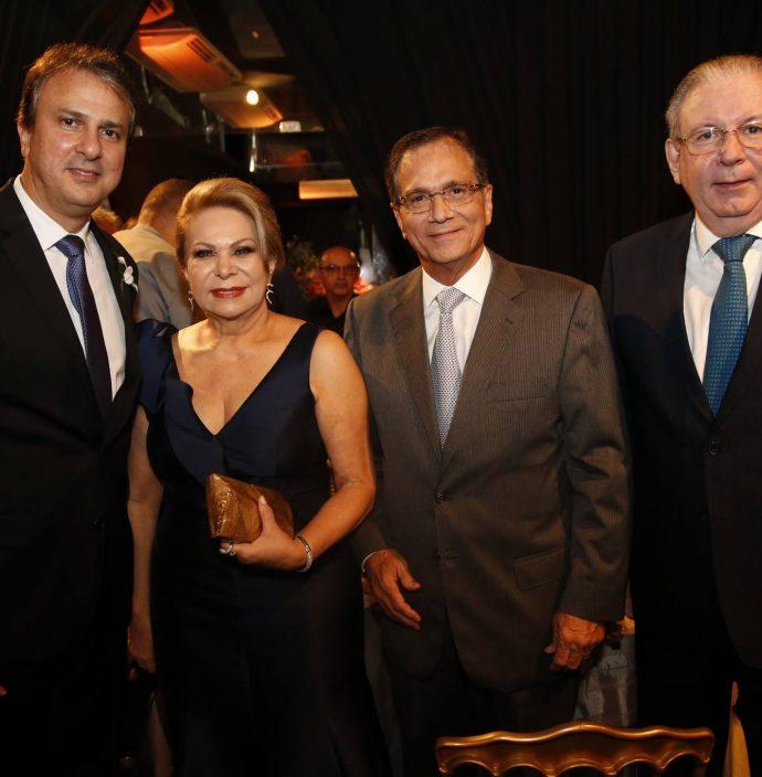 Camilo Santana, Iracema Do Vale, Beto Studart E Ricardo Cavalcante