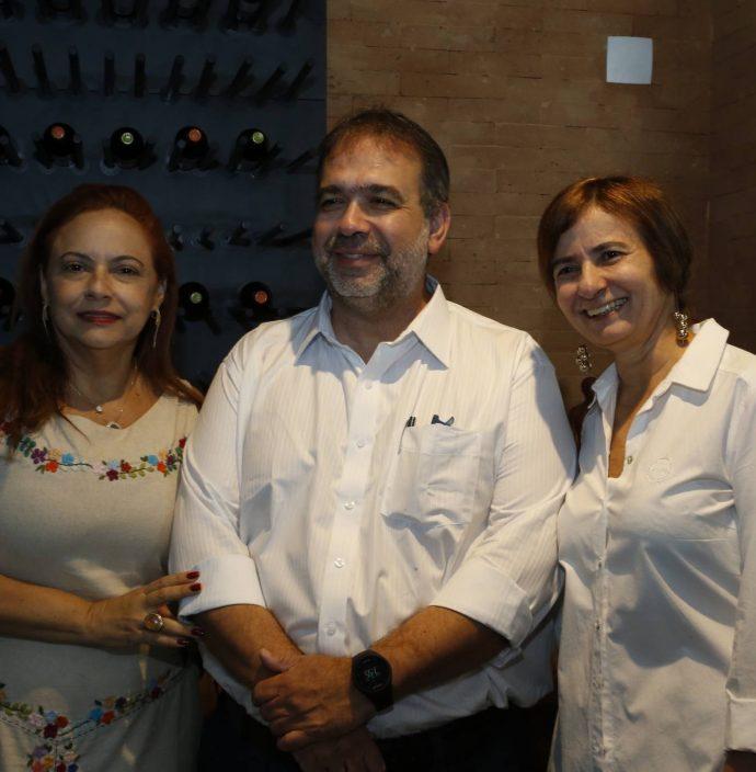 Carla Pinto, Hugo Leao E Raquel Caje