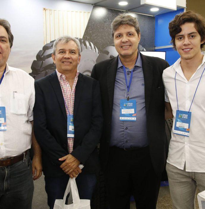 Carlos Oliveira, Francisco Santana, Marcos Oliveira E Hugo Fenelon